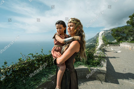 Stock Image of Lilly Aspell, Connie Nielsen