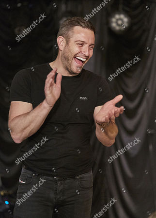 Elliot Wright during rehearsals for the Real Full Monty at the Shiregreen Club in Sheffield.