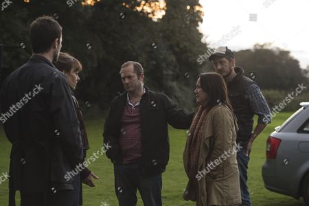 (Episode 1) - Helen McCrory as Emma Banville, Jonathan Forbes as Dominic Truelove, Rick Warden as Charlie Simms, Cathy Murphy as Beth Simms and Ben Cartwright as Phil Simms.