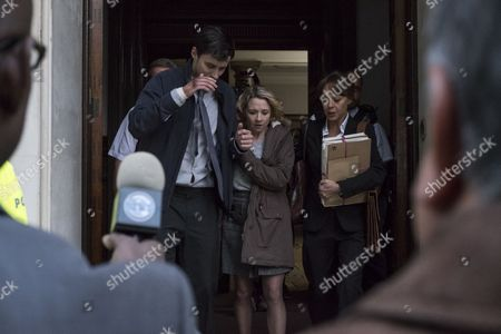 (Episode 1) - Sam Swainsbury as Kevin Russell, Rebecca Callard as Annie Peterson and Helen McCrory as Emma Banville.