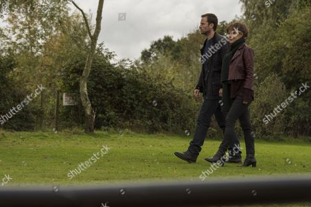(Episode 1) - Helen McCrory as Emma Banville and Jonathan Forbes as Dominic Truelove.