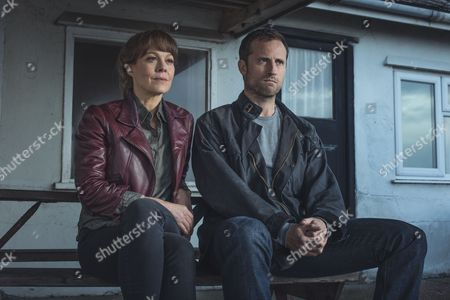 (Episode 1) - Helen McCrory as Emma Banville and Jonathan Forbes as Dominic.