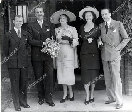 Actress Coral Browne (died 5/91) Marries Actor Philip Pearman (dead) (divorced 10/64) Mr & Mrs Jack Buchanan On Right Man On The Left Is Bill Kerr Mrs Jack Buchanan Is Now Mrs De Witt Linn Sage (9/61) Actors