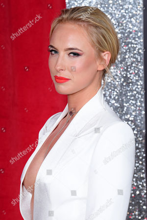 Editorial picture of The British Soap Awards, Arrivals, The Lowry, Manchester, Britain - 03 Jun 2017
