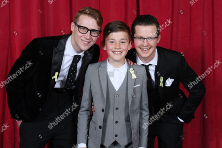 Editorial photo of The British Soap Awards, Arrivals, The Lowry, Manchester, Britain - 03 Jun 2017