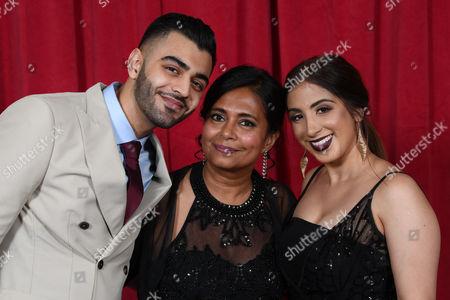 Sunjay Midda, Bharti Patel and Mandy Thandi