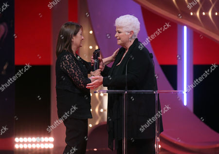 Stock Picture of Gillian Richmond - The Tony Warren Award, presented by Pam St Clement