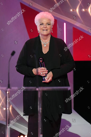 Pam St Clement - The Tony Warren Award, presenter