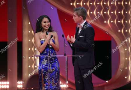 Editorial photo of The British Soap Awards, Show, The Lowry, Manchester, Britain - 03 Jun 2017