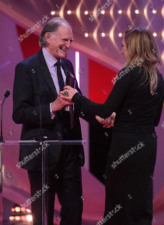 Charlotte Bellamy - Best Actress, presented by David Bradley