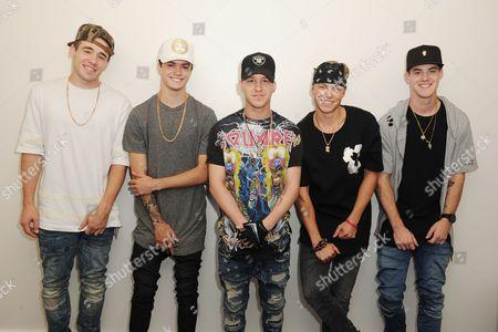 Jay, Taylor, Nate, Kyle, Dom