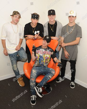 Stock Image of Jay, Taylor, Nate, Kyle, Dom