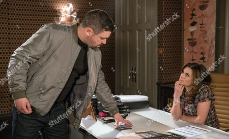 With Lawrence acting suspiciously Chrissie White, as played by Louise Marwood, tries to get to the truth and snoops to see his last number dialled. She calls it and summons Dean, as played by Danny Ryder, to the house to ask for information. Dean hesitantly reveals Lawrence has asked him to track down someone called Tim Richards, but Chrissie is left stumped as she struggles to place the name. (Ep 7854 - Mon 19 Jun 2017)
