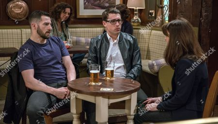 The Bartons are struggling for cash and after being rejected for another loan, Finn Barton's, as played by Joe Gill, worried about how they're going to pay the rent. Even Emma Barton's, as played by Gillian Kearney, trip to the bank proves futile. (Ep 7841 - Mon 5 Jun 2017)