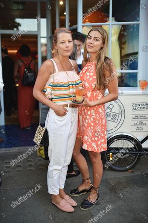 Davina Harbord and Lily Frieda
