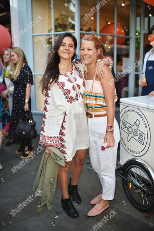 Amy Clegg and Davina Harbord