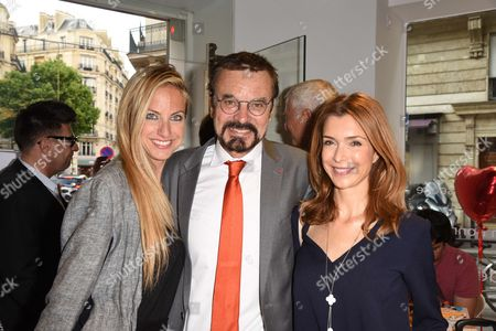 Editorial picture of Clarins Open Spa store opening, Paris, France - 01 Jun 2017