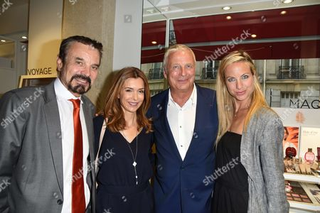 Editorial photo of Clarins Open Spa store opening, Paris, France - 01 Jun 2017