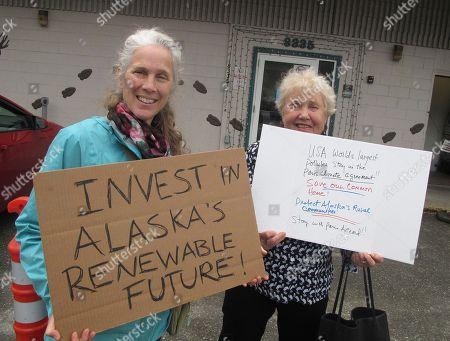 Editorial image of Murkowski Climate, Juneau, USA - 01 Jun 2017
