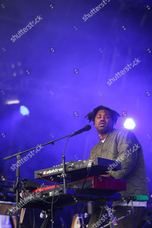 Stock Picture of Sampha Sisay