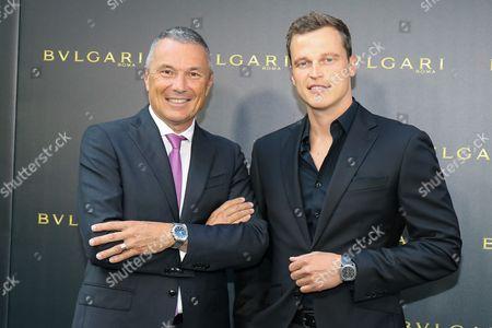 Editorial picture of Opening of the new Bulgari store, Frankfurt, Germany - 01 Jun 2017