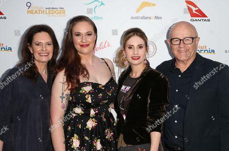 Stock Image of Sally Bell, Ashleigh Bell, Kate Ledger, Kim Ledger