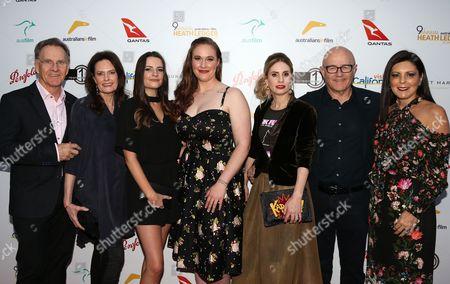 Sally Bell, Ashleigh Bell, Kate Ledger, Kim Ledger, Emma Brown, Kendra O'Brien, Robert Kool Bell