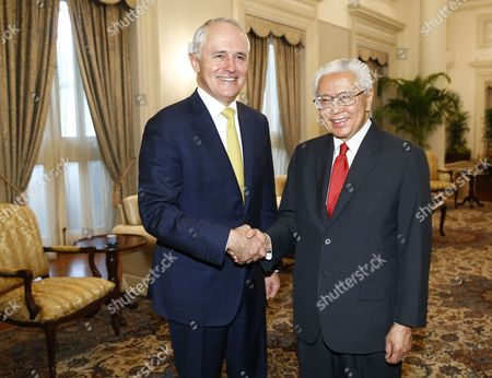 Malcolm Turnbull and Tony Tan