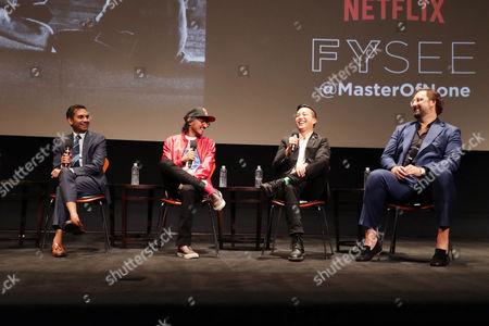 Aziz Ansari, Aniz Ansari, Alan Yang, Eric Wareheim