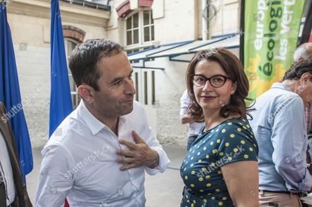 Benoit Hamon and Cecile Duflot, Europe Ecology – The Greens candidate