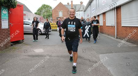 Editorial picture of Jeff Stelling's March for Men, Exeter, UK - 2 June 2017
