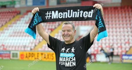 Editorial photo of Jeff Stelling's March for Men, Exeter, UK - 2 June 2017