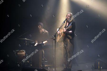 Editorial picture of Eskelina in concert at Le Cafe de la Danse, Paris, France - 25 Apr 2017