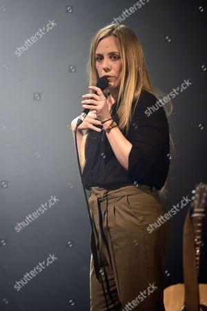 Editorial photo of Eskelina in concert at Le Cafe de la Danse, Paris, France - 25 Apr 2017