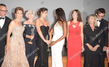 Chiara Boni, Nima Benati, Naomi Campbell, Federica Nardoni Spinetta