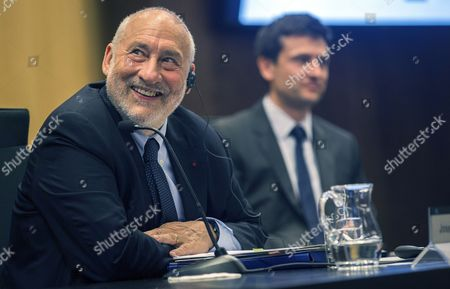 Editorial image of Economics Nobel laureate Joseph Stiglitz delivers a speech in Barcelona, Spain - 02 Jun 2017