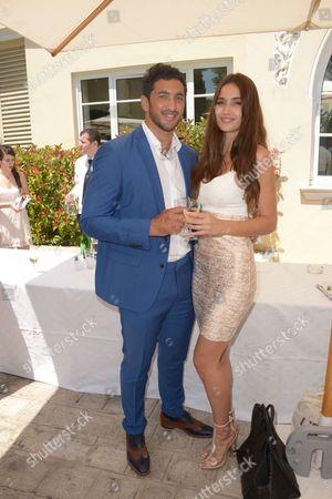 Maxime Mermoz and Barbara Morelpa