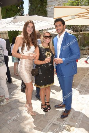 Maxime Mermoz, Barbara Morel and Mademoiselle Valerie Style