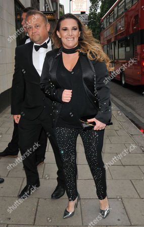Stock Picture of Craig Pearson and Sam Bailey