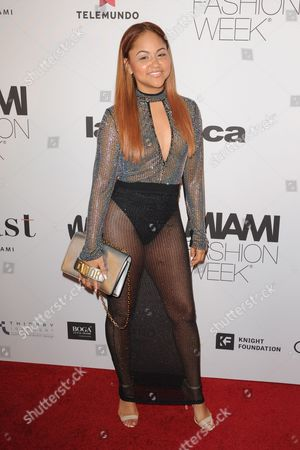 Editorial image of Celebrities at Miami Fashion Week, Ice Palace Film Studios, Miami, USA - 02 Jun 2017