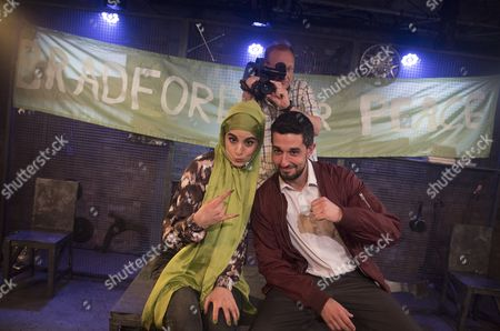 Shireen Farkhoy as Samina, Nigel Hastings as Andy, Beruce Khan as Shaz,