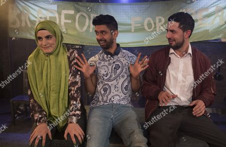 Shireen Farkhoy as Samina, Mitesh Soni as Faisal, Beruce Khan as Shaz,