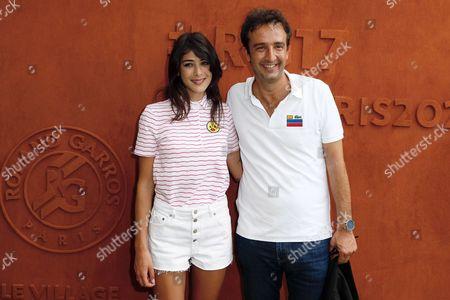 Cyrille Eldin and Sandrine Calvayrac