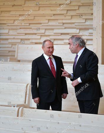 Valery Gergiyev and Vladimir Putin