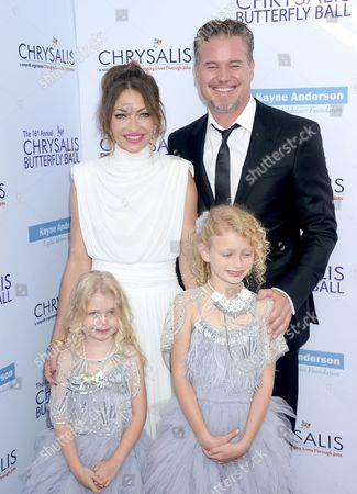 Rebecca Gayheart, husband Eric Dane and Kids