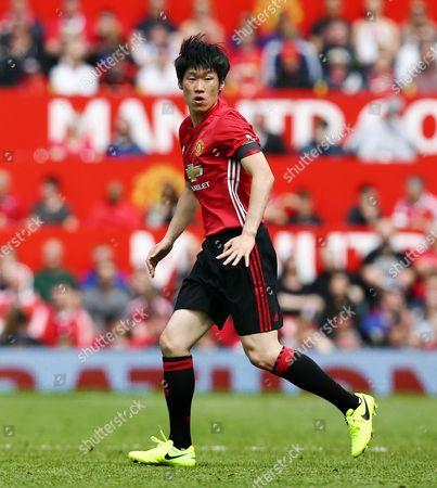 Ji-Sung Park of Man Utd 08 XI