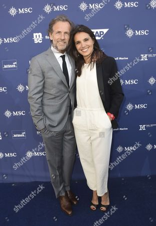 Stock Picture of Stephane Freiss and Ursula