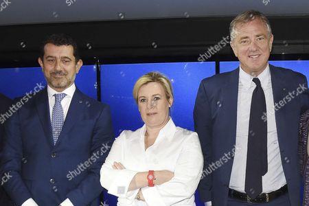 Gianni Onorato, Helene Darroze, Pierfrancesco Vago