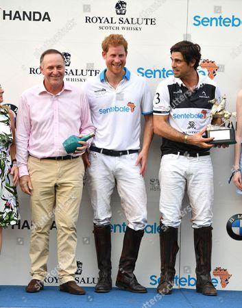 John Key, Prince Harry, Nacho Figueras
