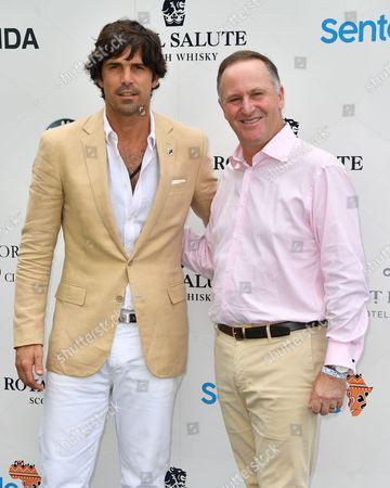 Nacho Figueras and John Key